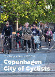 City of Copenhagen's Bicycle Account 2020 - Publications on cycling in Denmark